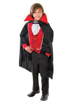 Child Victorian Vampire Costume