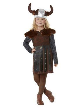 Child Viking Girl Costume