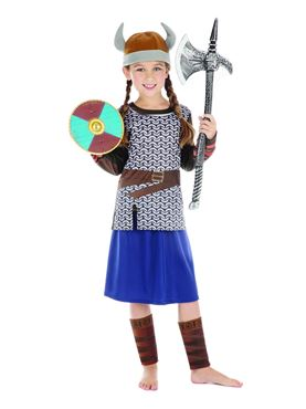 Child Viking Girl Costume Couples Costume