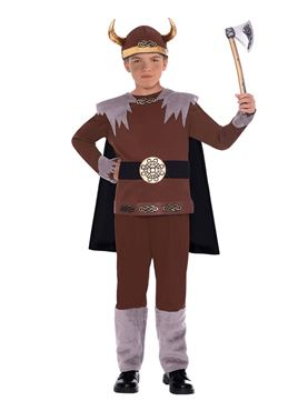 Child Viking Warrior Costume