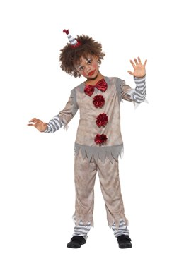 Child Vintage Clown Boy Costume