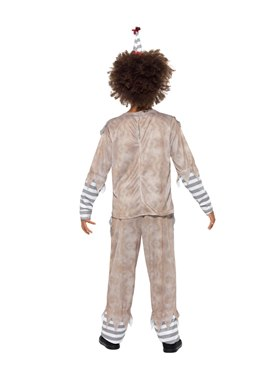 Child Vintage Clown Boy Costume - Side View
