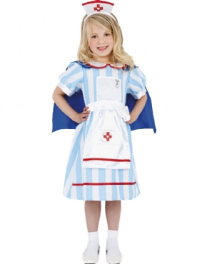Child Vintage Nurse Costume