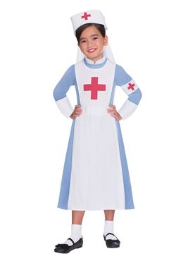Child Vintage Nurse Costume