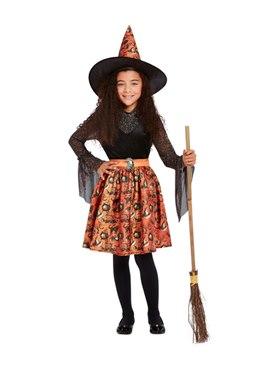 Child Vintage Witch Costume