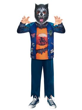 Child Werewolf Sustainable Costume