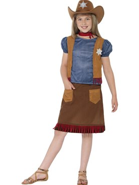Child Western Belle Cowgirl Costume Couples Costume