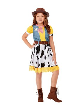 Child Western Cowgirl Costume Couples Costume