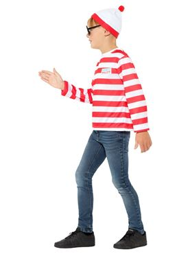 Child Where's Wally Instant Kit - Back View
