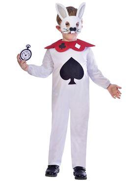 Child White Rabbit Costume