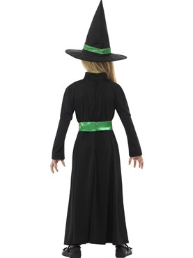 Child Wicked Witch Costume - Side View