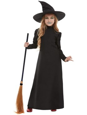 Child Wicked Witch Girl Costume - Back View