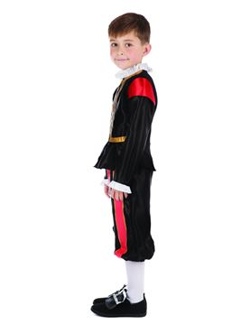 Child William Shakespeare Costume - Side View