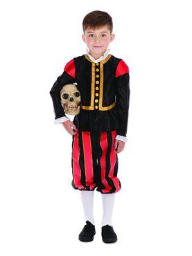 Child William Shakespeare Costume