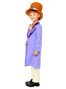 Child Willy Wonka Costume - Side View