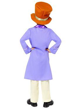 Child Willy Wonka Costume - Back View