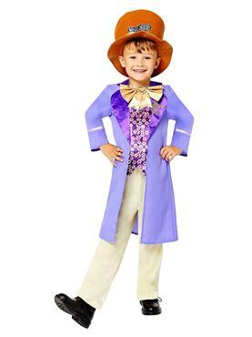 Child Willy Wonka Costume Couples Costume