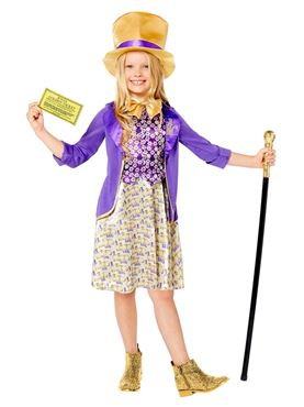 Child Willy Wonka Costume Couples Costume