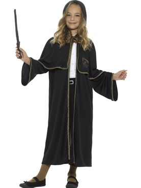 Child Wizard Cloak - Back View