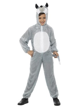 Child Wolf Childrens Costume