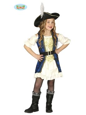 Child Woman Captain Costume