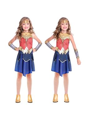 Child Wonder Woman Movie Costume - Side View