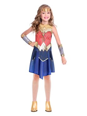 Child Wonder Woman Movie Costume - Back View
