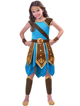 Child Wonderous Warrior Costume