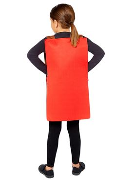 Child Wonka Bar Tabard - Side View