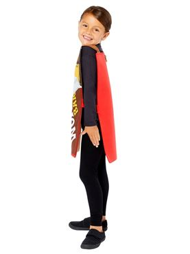 Child Wonka Bar Tabard - Back View