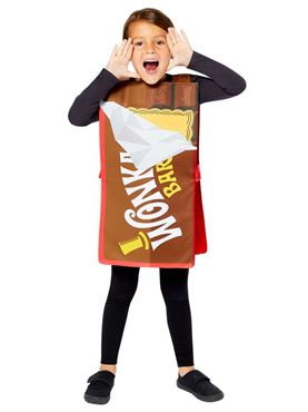 Child Wonka Bar Tabard
