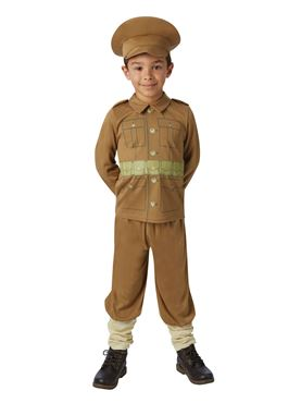 Child WW1 Soldier Costume Couples Costume
