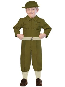 Child WW1 Soldier Costume