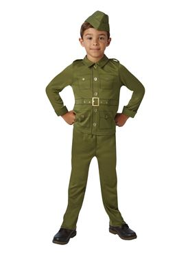 Child WW2 Soldier Costume