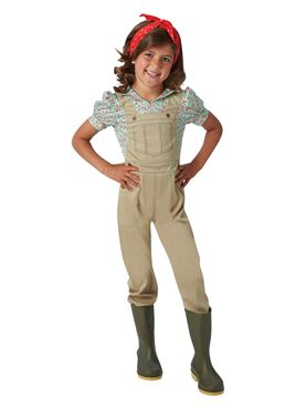 Child WW2 Landgirl Costume Couples Costume