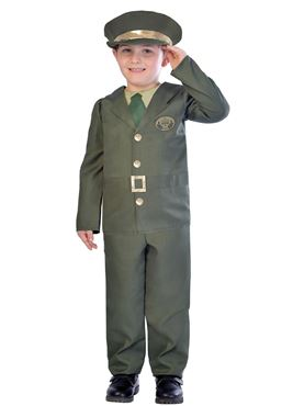 Child WW2 Soldier Costume Couples Costume