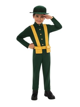 Child WWI Soldier Costume Couples Costume