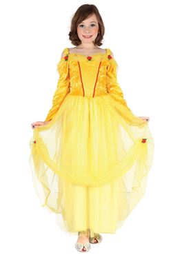 Child Yellow Princess Costume