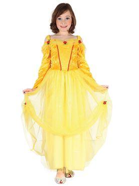 Child Yellow Princess Costume