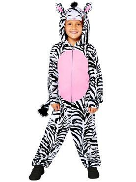 Child Zebra Onesie Costume Couples Costume