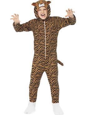 Child Tiger Onesie Costume