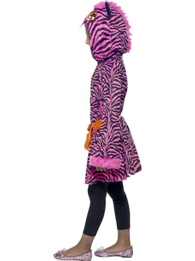 Child Zebra Sass Costume - Back View
