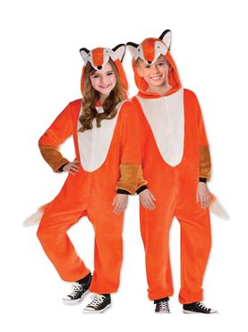 Child Zipster Foxy Costume