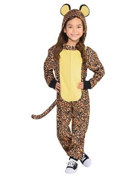 Child Zipster Leopard