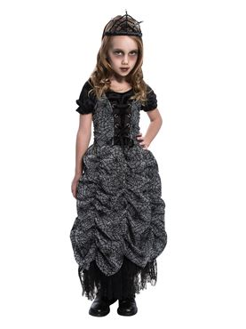 Child Spider Coffin Princess Costume