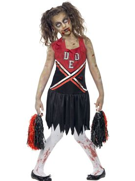 Child Zombie Cheerleader Costume
