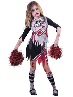 Child Zombie Cheerleader Costume  sc 1 st  Fancy Dress Ball & Child Zombie Cheerleader Costume - 9902690 - Fancy Dress Ball