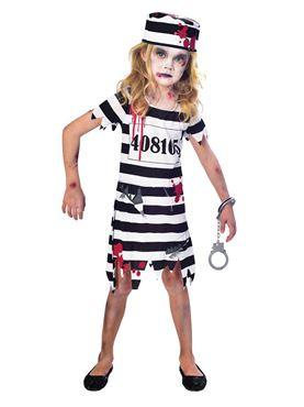 Child Zombie Convict Costume