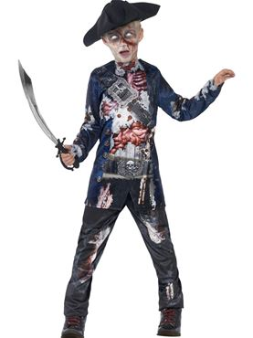 Child Deluxe Jolly Rotten Pirate Costume Couples Costume