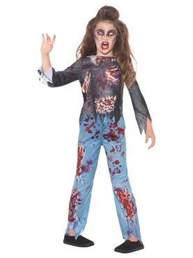 Child Zombie Costume - Side View